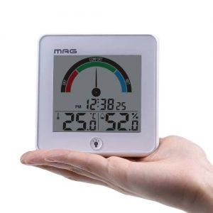 MAG温度湿度計インデクスホワイト