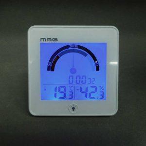 MAG(マグ) ライト時計付き 温度湿度計 インデクス TH-104