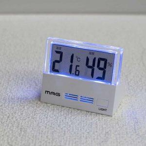 MAG(マグ) TH-108 温度湿度計シースルー ライトアップ