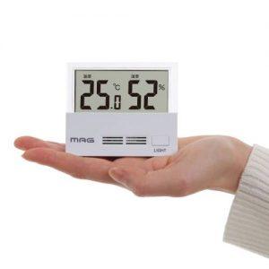 MAG(マグ) TH-108 デジタル 温度湿度計 シースルー