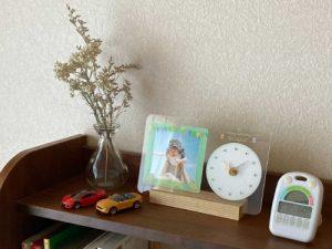 MAGフォトフレーム時計使用イメージ